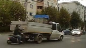 Accident dramatic la Cluj