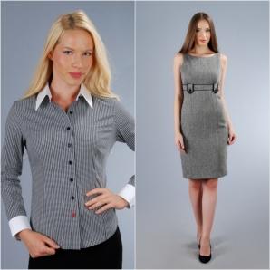 Îți recomandăm această rochie office de la Yokko, din cel mai special țesut al toamnei.