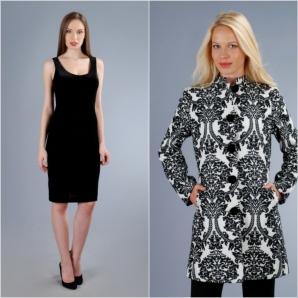 Poți arăta și tu ca o divă într-o senzuală rochie neagra din catifea și o jacheta brocata din catifea pentru anotimpul rece.