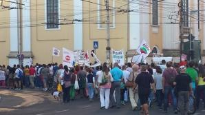 Mare protest la Cluj Napoca FOTO: Varga Ferencz