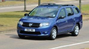 Dacia Logan MCV, testată de presa internaţională