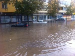 MARTOR OCULAR. Inundaţii de proporţii la Tulcea