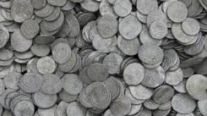 Cel mai mare tezaur monetar de argint descoperit pe teritoriul României