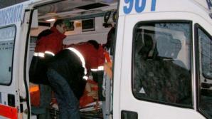Accident mortal în Bistriţa. Un camion care transporta carne s-a ciocnit de un tir