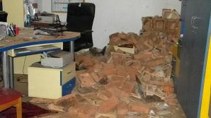 Explozie în cabinetul unui medic de familie