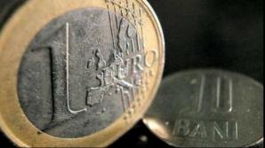 Moneda euro, apreciere în raport cu leul