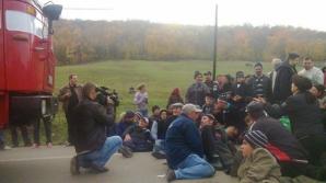 Protestele localnicilor din Siliştea au început luni