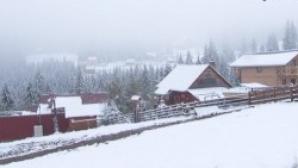 Prima ninsoare la Cluj