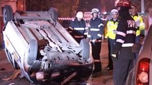 Accident în lanţ, cu 5 maşini, la Cluj