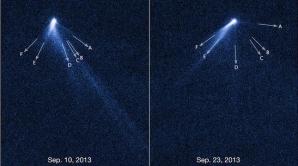 Astronomii americani, consternaţi în faţa asteroidului cu 6 cozi
