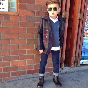 Mateo Alonso, fashionist la 5 ani