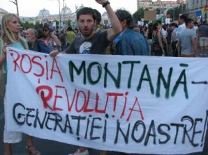 PROTEST ROŞIA MONTANĂ, în mai multe oraşe din ţară. A 11-a duminică