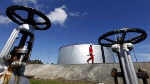 Preţul petrolului, în scădere puternică