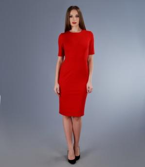 Dacă te gândeşti să-i faci cadou o rochie roşie, alege-o pe cea de la YOKKO, cu care nu ai cum să dai greş.