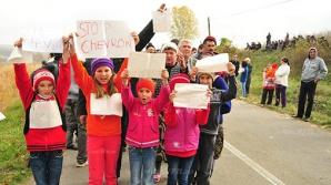Mesajul emoţionat al copiilor din Pungeşti pentru toţi românii