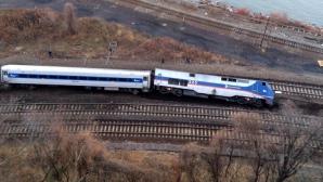 Tren deraiat la New York