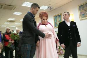 OANA ROMAN, IMAGINI emoţionante de la nuntă