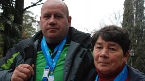 P&G i-a adus la Soci pe mama și pe fratele biatlonistei Evei Tofalvi