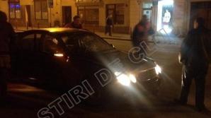 O mașină a Consulatului Maghiar a lovit un adolescent de 17 ani în centrul Clujului
