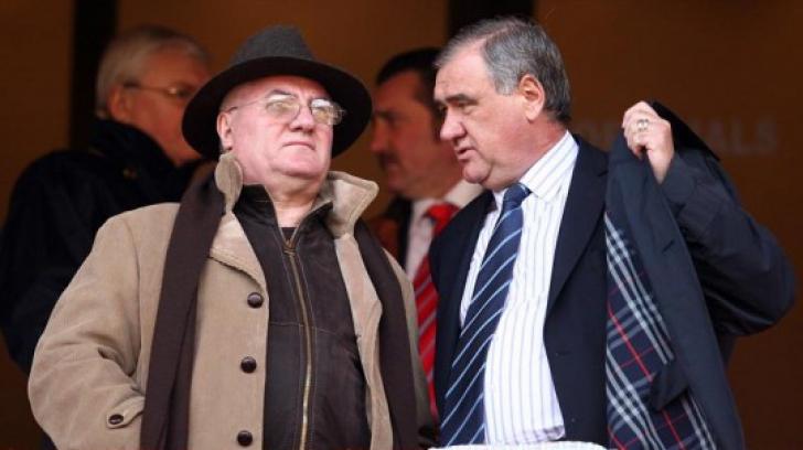 Gheorghe Chivorchian, alături de Dumitru Dragomir