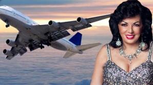 Carmen Harra a făcut infarct în avion