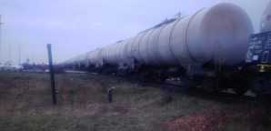 Tren deraiat, lângă Timişoara. FOTO: ziuadevest.ro