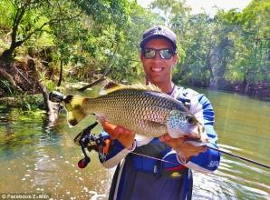 Captură cu surprize, pentru un pescar din Queensland, Australia. Ce se ascunde în interiorul gurii peştelui