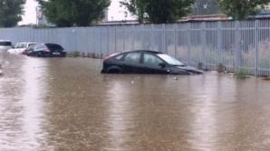 Sanatoriul Balneoclimateric Techirghiol și herghelia din Mangalia, inundate în urma ploilor