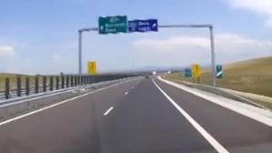 Se înaintează încet, dar sigur cu lucrările la autostradă