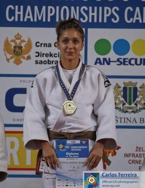 Ștefania Dobre, argint la judo, la JO de tineret
