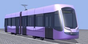 Nicolae Robu se laudă pe Facebook cu tramvaiele viitorului.
