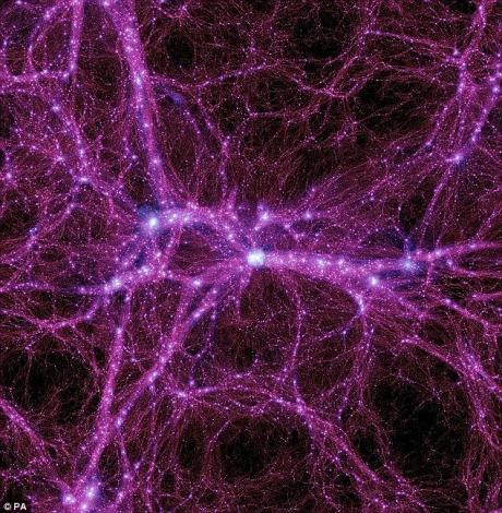 Particule de materie întunecată, detectate în premieră de oamenii de ştiinţă - FOTO