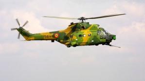 Elicopter prăbuşit la Sibiu