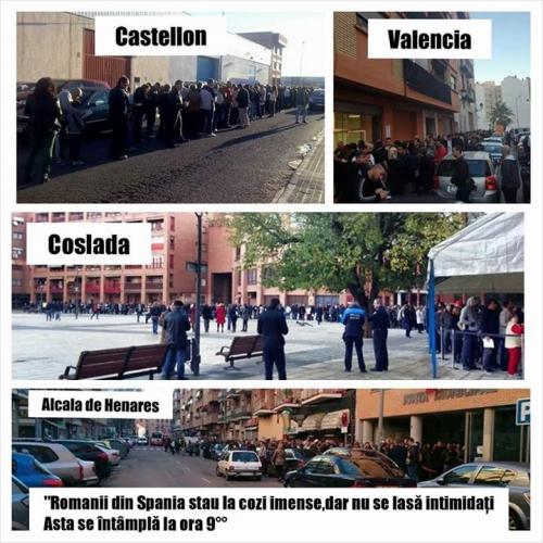 rezultate alegeri prezidentiale 2014 vot diaspora spania