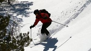 Primăria Vulcan, amendată pentru că a transformat o şosea în pârtie de schi