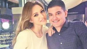 Cristian Boureanu şi iubita sa, Laura.