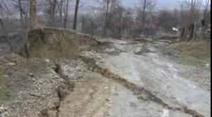 Alunecări de teren în Buzău