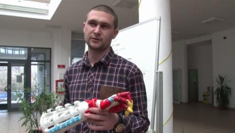 Realizare extraordinară a unui tânăr român. A învățat totul singur, de pe net