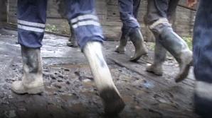 Protest spontan în Valea Jiului. Minerii de la Lonea s-au blocat în subteran