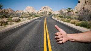 Amenzi drastice pentru autostop