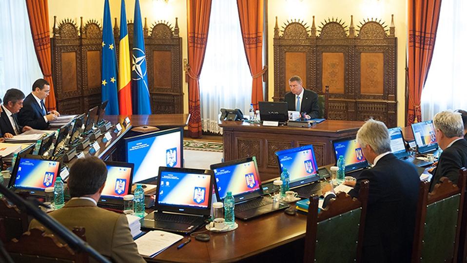 Şedinţă CSAT, mâine, în lipsa lui Victor Ponta