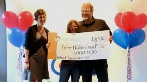 Un bărbat lovit de trăsnet a câştigat la loterie