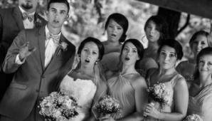 Fotografia de nuntă minunată. A căzut în timp ce făcea o poză mirilor. Rezultatul e uimitor