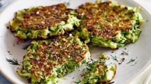 Reţeta zilei: Chiftele verzi delicioase cu dovlecei