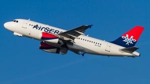 Air Serbia anunţă că întrerupe zborurile pe ruta Belgrad - Budapesta