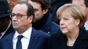 """Hollande și Merkel lasă """"deschisă ușa pentru discuții"""", însă îi cer Atenei """"propuneri serioase"""""""