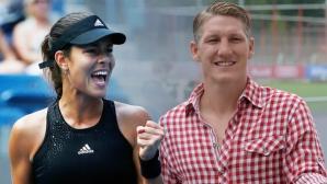 Sârboaica Ana Ivanovic şi adevăratul motiv al eliminării sale: fotbalistul germanBastian Schweinsteiger