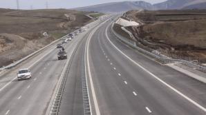 Un tânăr a condus cu 217 km/oră pe A3 Turda - Borş