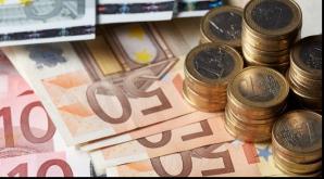 Euro crește din nou