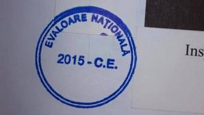 evaloarea nationala - stampila